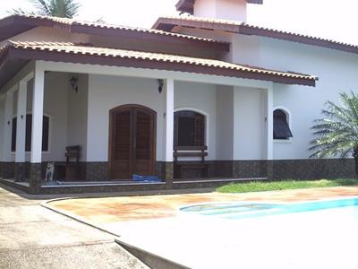 Casa Com Piscina No Jd. Bopiranga Itanhaém Cod. 036