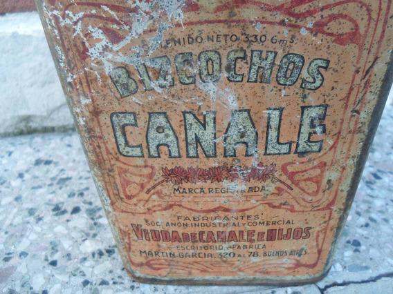 Lata De Galletitas Canale Antigua