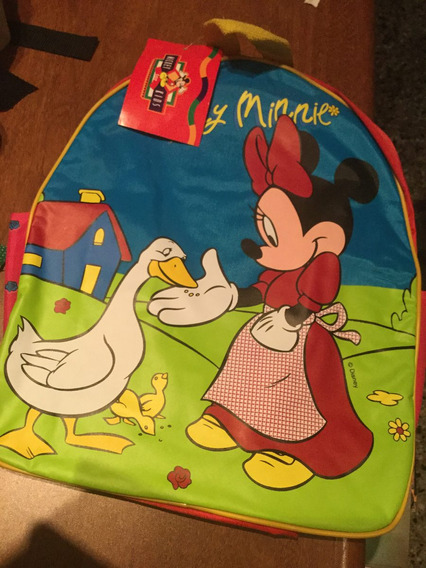 Mochila Escolar Minnie Mouse. Disney Mickey For Kids