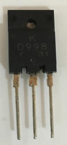 Transistor D998 Encapsulado Plastico Nte-36 Ecg-36 Calidad.