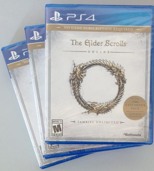 The Elder Scrolls Online Tamriel Unlimited Ps4 - Lacrado
