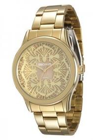 Relógio Feminino Analógico Seculus 60664lpsvds1