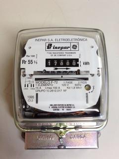 Relogio Medidor De Consumo De Energia Eletrica Monofasico