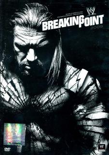 Dvd Breaking Point 2009 Wwe - Randy Orton / John Cena / Trip