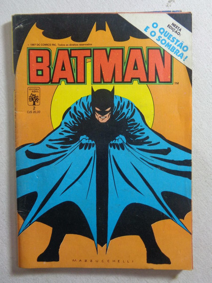 Revista Quadrinhos Batman Gibi 1987