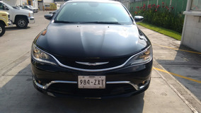 Chrysler C200 Año 2o15 Nuevo 4 Cilindros Piel Gps 8000 Km