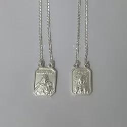 Escapulariu Em Prata 925 Peso 7,6gm