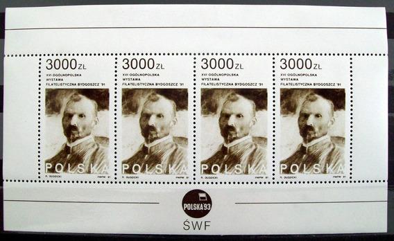 Polonia, Bloque Sc. 3048 L. Wyczolkowski 91 Mint L6014