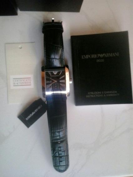 Relógio Empório Armani Original. Cód Aro.180com Certificad