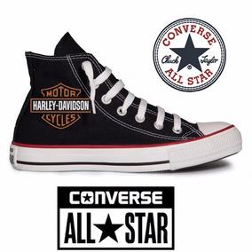 Tênis Harley Davidson Moto All Star Converse Ct Hi Core