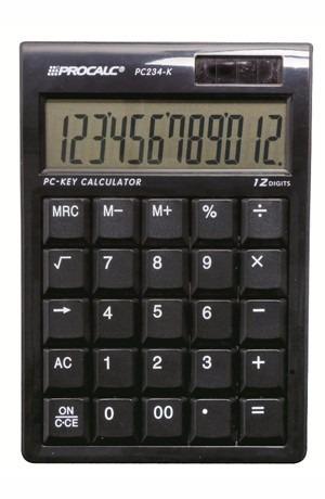 Calculadora 12 Dígitos Procalc Pc 234k - Original - Garantia