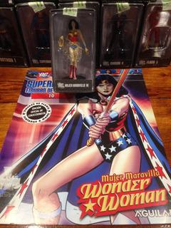 Dc Mujer Maravilla Wonder Woman Figura De Plomo Aguilar Nº10