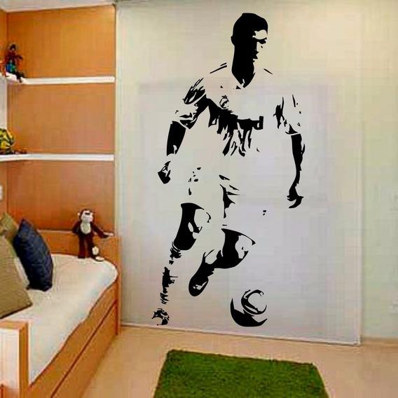 Adesivo Decorativo Futebol Cr7 Cristiano Ronaldo Real Madrid
