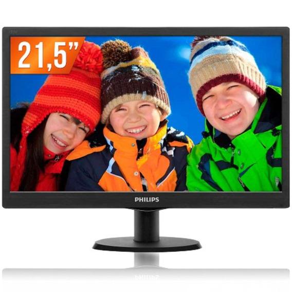 Monitor Lcd 21,5 Full Hd Widescreen 223v5lhsb2 Philips