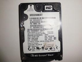 Hd Notebook 320 Gb Wd Scorpio Black Wx91a50v0731 *defeito