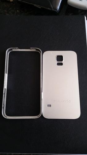 Capa De Alumínio Para Samsung S5