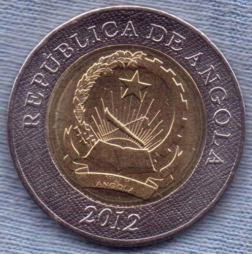 Angola 10 Kwanzas 2012 * Republica * Bimetalica *