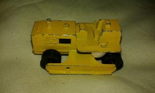 Majorette Bulldozer Miniatura Retroescavadeira