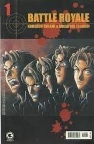 Battle Royale Número 01 - Mangà - Editora Conrad