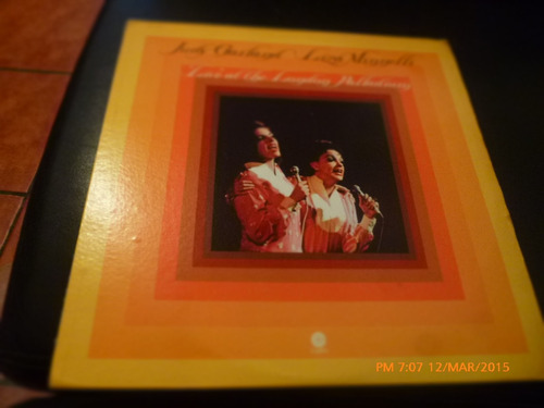 Vinilo Lp De  Judy Garland -liza Minnelli -live At The(u1025