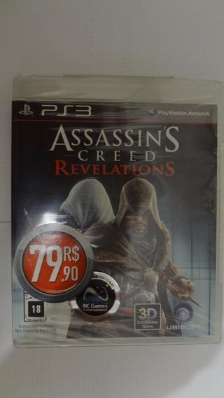 Assassins Creed Revelations Ps3 (black Label) Novo E Lacrado