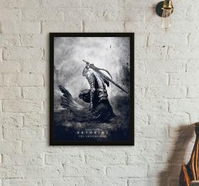 Quadro Gamer Artórias / Ornstein (dark Souls) 30x40
