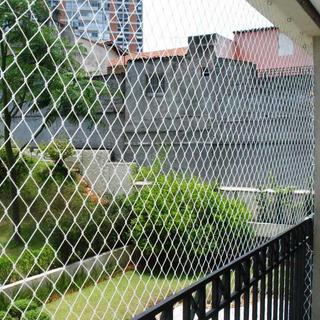 Kit De Instalacion Red Para Balcon Redes Proteccion Balcones - Entrega Inmediata. Resiste Intemperie