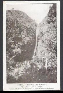 Postal Antigo, Cascade De Campo Alegre. Cachoeira