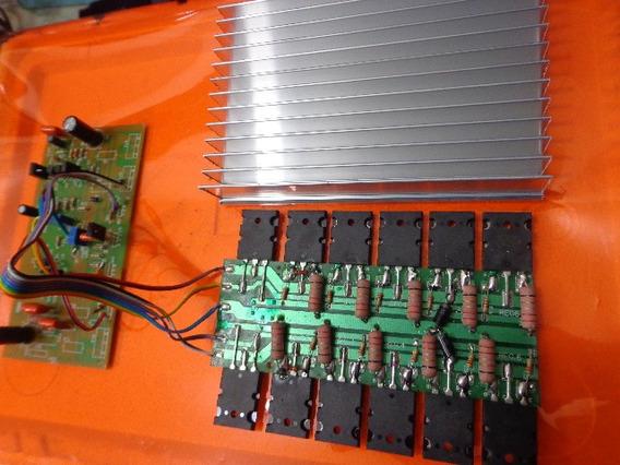Placa Amplificador 1500w +dissipador / A1 Gradiente