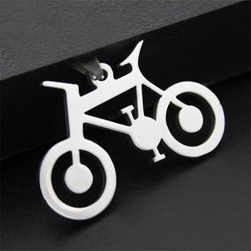 Colar Cordão Ajustavel Unisex Bike Bicicleta Aço Inoxidável