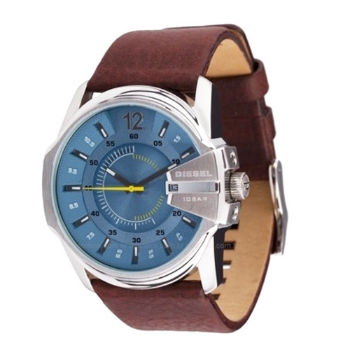 Relógio Original Diesel Masculino Dz1399/0kn Azul Esportivo