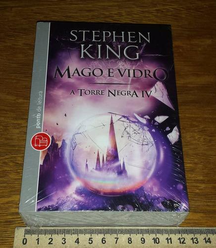 A Torre Negra - Mago E Vidro - Stephen King - Livro Novo