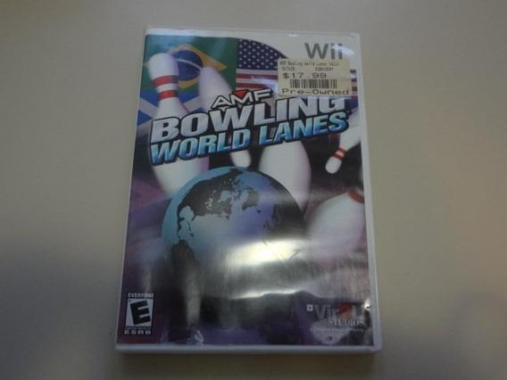 Bowling World Lanes Orig Americano P Nintendo Wii