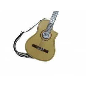 Miniatura De Violão Flat Elétrico No Blister