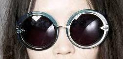 Anteojos Lentes Gafas Redondos Metalico Karen Walker Design