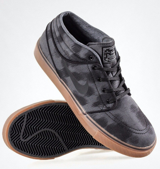 Tênis Nike Zoom Janoski Mid Skate Raridade Exclusivo Usado Dvs Globe Emerica Dc Es 100% Original