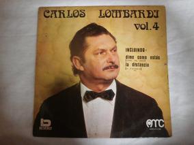 Lp Carlos Lombardi Vol.4 - La Distancia, Disco De Vinil 1973