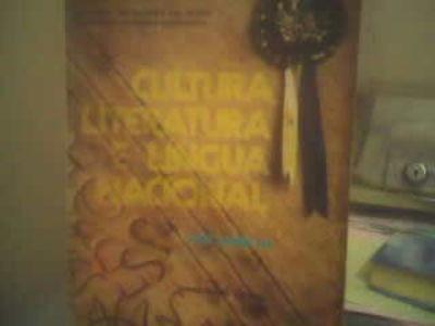 Cultura, Literatura E Língua Nacional Vol. 3
