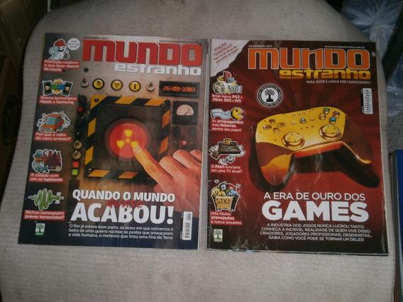 Mundo Estranho Pacote C/ 10 Revistas Por R$ 40,00