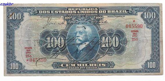 * R141b - 100.000 Reis 16ª Estampa 1942 - R-141b - Mbc/sob *