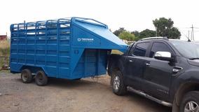 Carro Jaula Tecnar Mod 4000 P/caballos/hacienda P/ 4 Ton