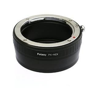 Fotasy Napk Pro Pentax Pk / K Montaje De La Lente Para Sony
