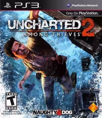Uncharted Among Thieves 2 Goty Game Year Mídia Física Ps3