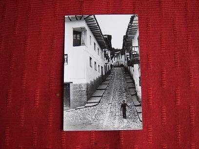 Postal De San Blas .cusco-perú