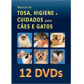 Curso 12 Dvds Banho E Tosa Para Cães E Gatos - 55 Horas