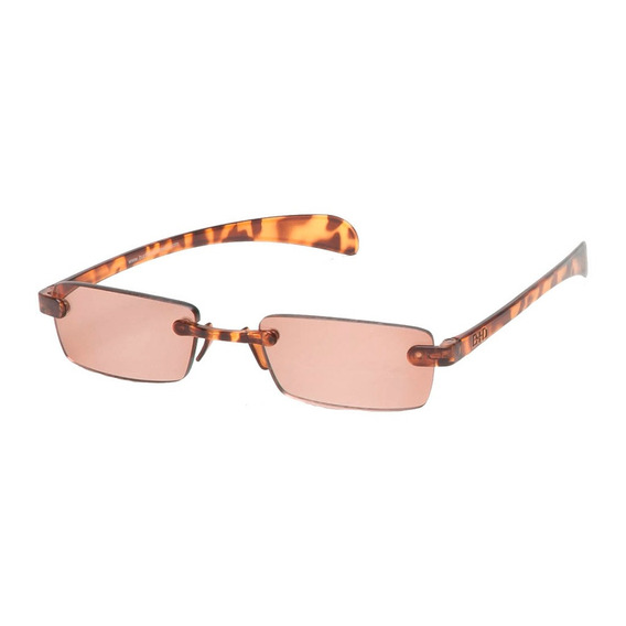 Lentes Gafas Lectura Optica Sol B+d Fly Reader Tortuga +2.00