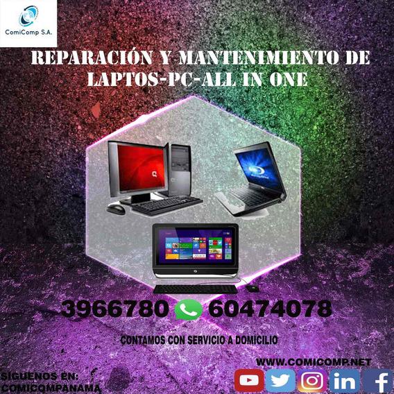 Soporte Tecnico De Computadoras, Laptops, All In One