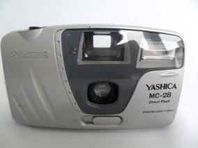 Câmera Máquina Fotográfica Antiga Yashica Mc 28 Coleção