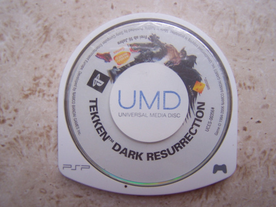Jogo Cd Psp Tekken Dark Resurrection - Sem Capa E Manual