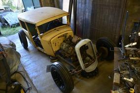 Ford A Tudor 1931 Hot Rat Rod Flathead V8 1947 Old School